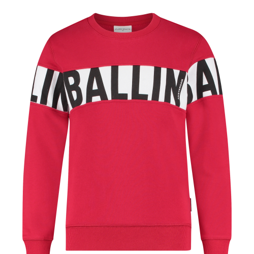 Ballin sweater rood 21017303_28
